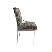 Load image into Gallery viewer, CHROME CURVED ARM DINING CHAIR BY DILLINGHAM MANUFACTURING COMPANY - Flair Home Collection