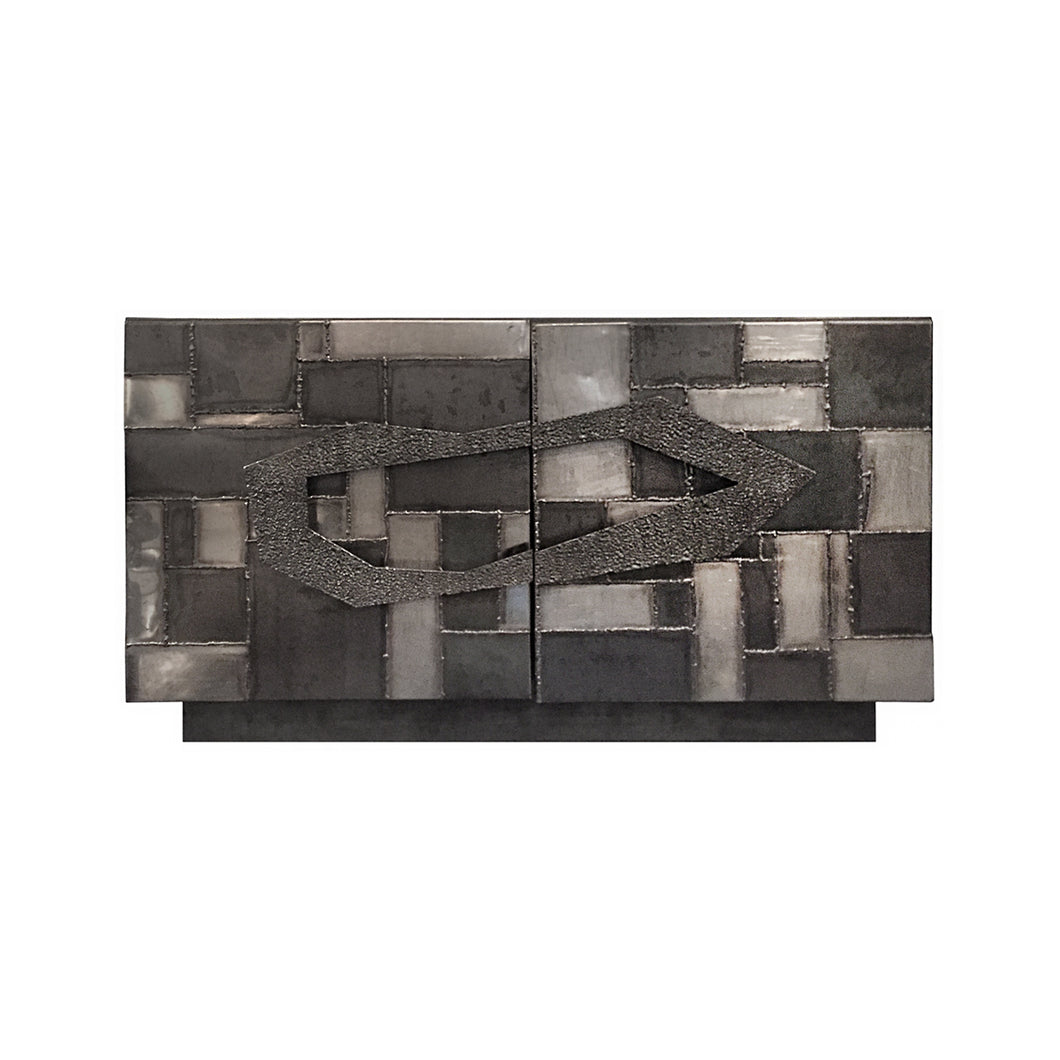 HANDMADE BRUTALIST WELDED SIDEBOARD - Flair Home Collection