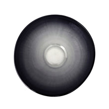 Load image into Gallery viewer, LARGE CURVED CERAMIC BOWL WITH OMBRE GLAZE - Flair Home Collection