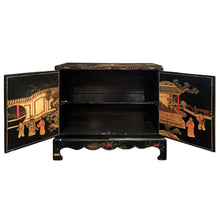 Load image into Gallery viewer, MIDCENTURY CARVED CHINOISERIE CABINET - Flair Home Collection