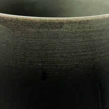 Load image into Gallery viewer, TALL DARK OMBRE GLAZE CERAMIC CHALICE - Flair Home Collection