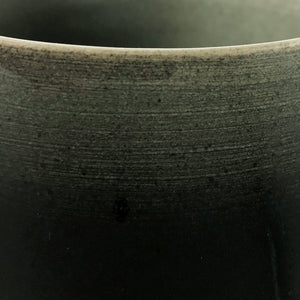 TALL DARK OMBRE GLAZE CERAMIC CHALICE - Flair Home Collection