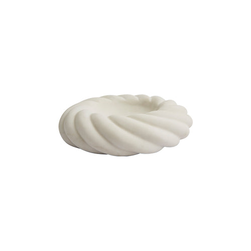 ROPE BOWL IN BIANCO MARBLE - Flair Home Collection