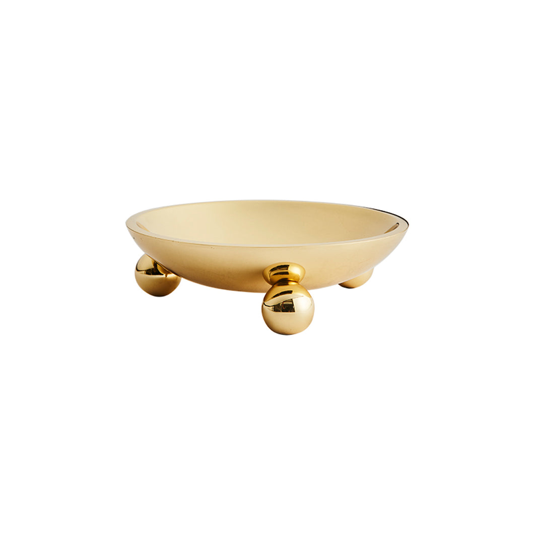 BOULE BOWL IN BRASS - Flair Home Collection