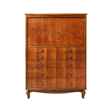 Load image into Gallery viewer, MID-CENTURY CHEST OF DRAWERS WITH DIAMOND INLAY DETAIL - Flair Home Collection