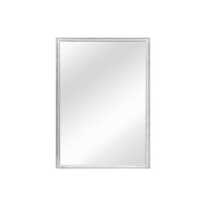VINTAGE RECTANGULAR BEVELED CHROME FRAMED MIRROR - Flair Home Collection