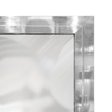 Load image into Gallery viewer, RECTANGULAR BEVELED CHROME FRAMED MIRROR - Flair Home Collection