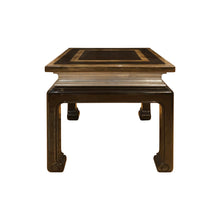 Load image into Gallery viewer, MAISON JANSEN STYLE SQUARE LACQUERED WOOD SIDE TABLE - Flair Home Collection