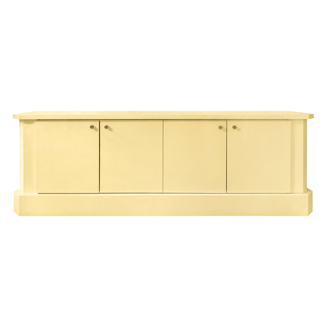 IVORY LACQUER SIDEBOARD BY JEAN CLAUDE DRESSE - Flair Home Collection