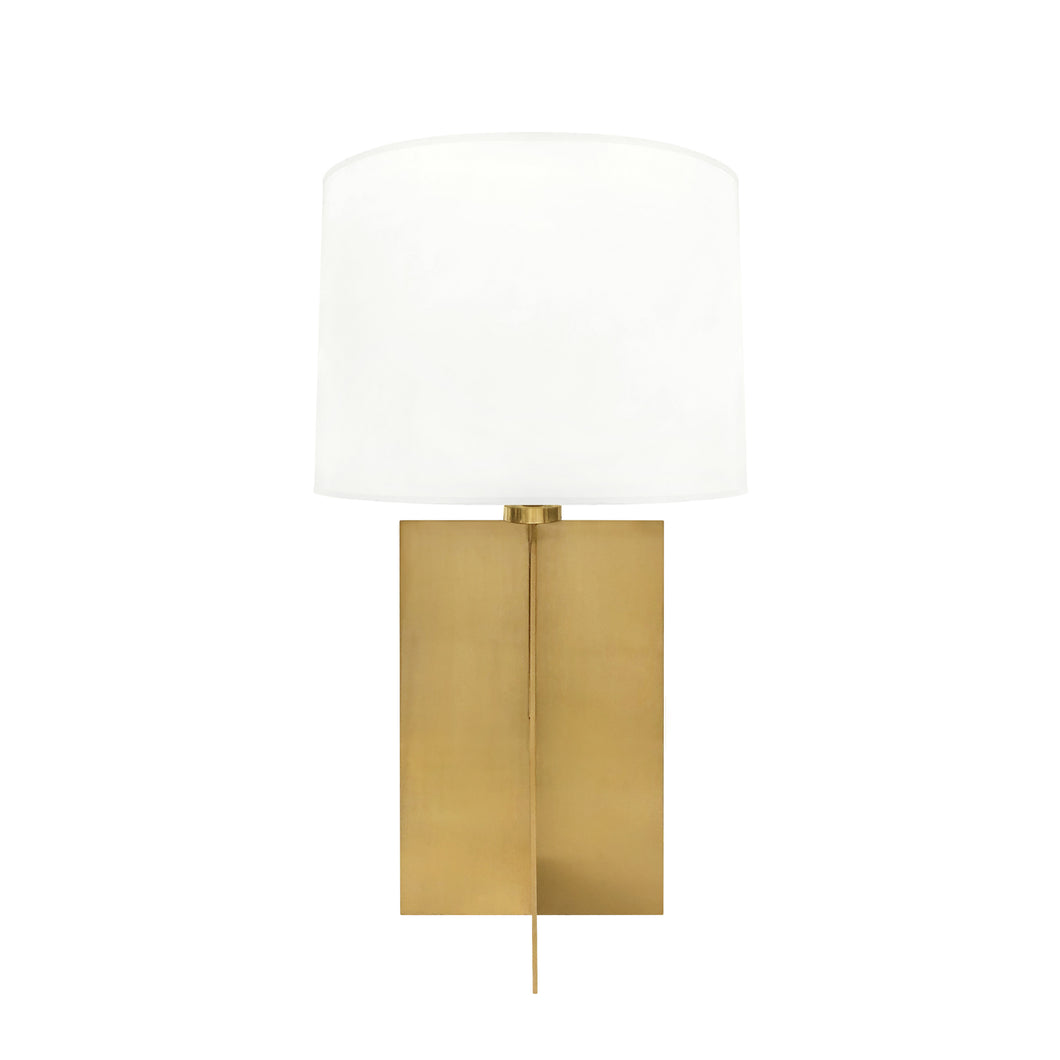 BRONZE CROSS BASE TABLE LAMP - Flair Home Collection