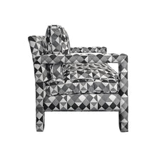 Load image into Gallery viewer, MILO BAUGHMAN STYLE PARSONS LOUNGE CHAIR - Flair Home Collection