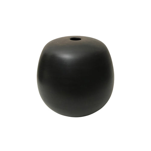 EBONIZED CHERRY WOOD PRIMARY VESSEL #1 - Flair Home Collection