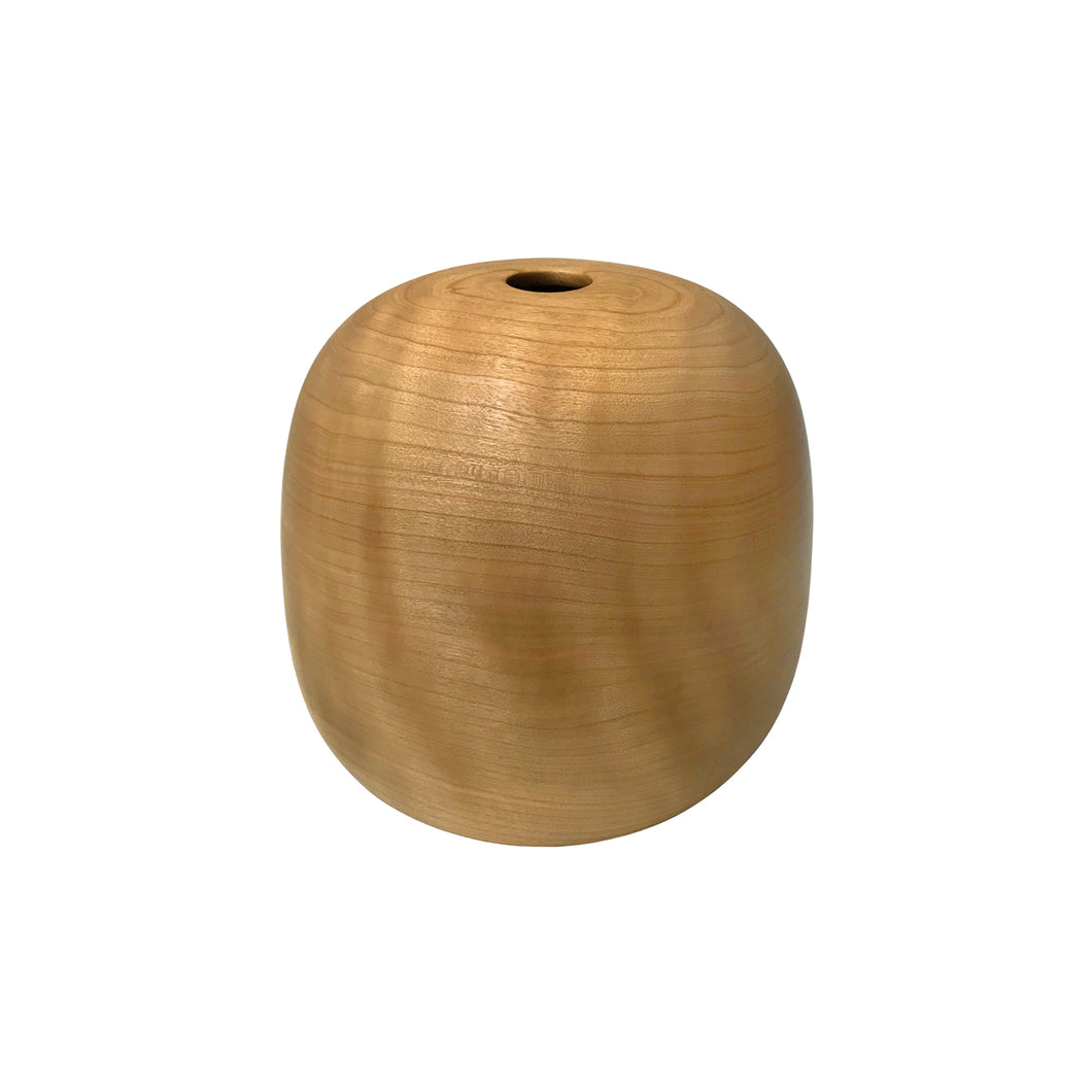NATURAL CHERRY WOOD PRIMARY VESSEL #1 - Flair Home Collection