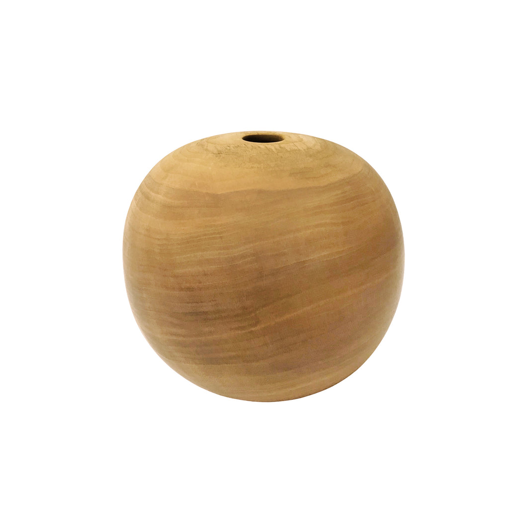 NATURAL CHERRY WOOD PRIMARY VESSEL #2 - Flair Home Collection