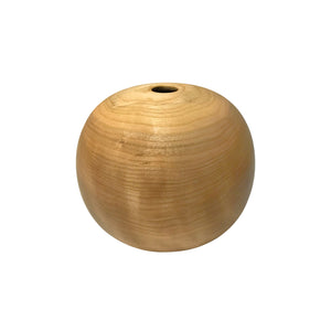 NATURAL CHERRY WOOD PRIMARY VESSEL #3 - Flair Home Collection