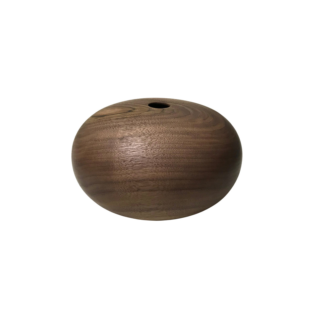 WALNUT WOOD PRIMARY VESSEL #2 - Flair Home Collection