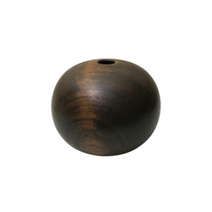 EBONIZED CHERRY WOOD PRIMARY VESSEL #4 - Flair Home Collection