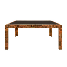 Load image into Gallery viewer, VINTAGE PAUL EVANS FOR DIRECTIONAL PATCHWORK METAL DINING TABLE - Flair Home Collection