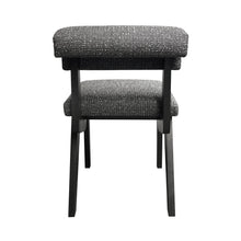 Load image into Gallery viewer, FORTE DINING/DESK CHAIR IN BLACK AND WHITE BOUCLE - Flair Home Collection