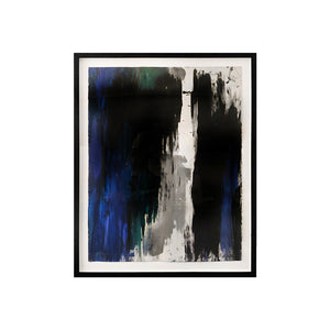 """GRADOLA X"" ABSTRACT PAINTING BY JENNA SNYDER PHILLIPS - Flair Home Collection"