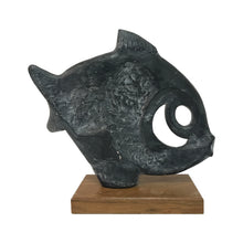 Load image into Gallery viewer, KLARA SEVER FOR AUSTIN PRODUCTIONS ABSTRACT FISH SCULPTURE - Flair Home Collection