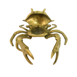 BRASS CRAB ASHTRAY - Flair Home Collection