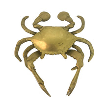 Load image into Gallery viewer, BRASS CRAB ASHTRAY - Flair Home Collection