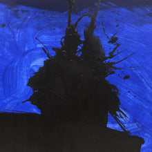 Load image into Gallery viewer, ABSTRACT BLUE CALLIGRAPHIC PAINTING #1 BY MARC ASHMORE - Flair Home Collection