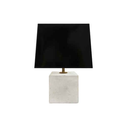 MARBLE CUBE LAMP - Flair Home Collection