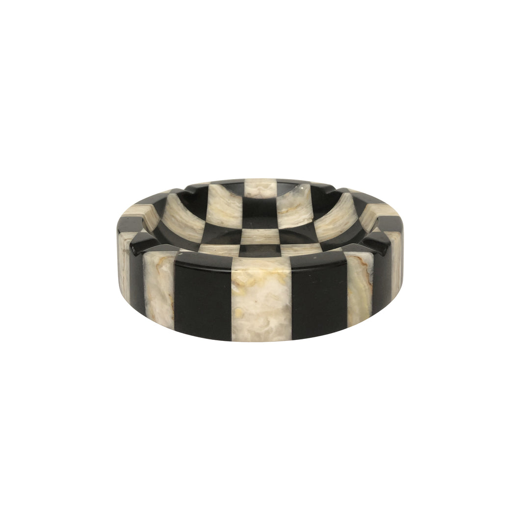 CHECKERBOARD MARBLE VIDE POCHE - Flair Home Collection