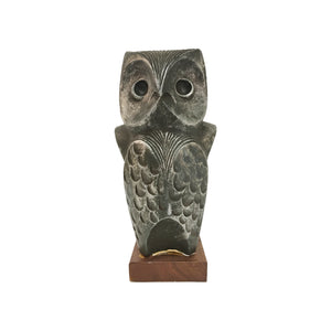 AUSTIN PRODUCTIONS MODERNIST OWL SCULPTURE - Flair Home Collection