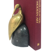 Load image into Gallery viewer, BRASS HERON BOOKENDS - Flair Home Collection
