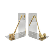 Load image into Gallery viewer, FRENCH GOLF MOTIF BOOKENDS - Flair Home Collection