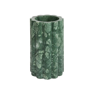 SMALL STELO VASE IN FORESTA MARBLE - Flair Home Collection