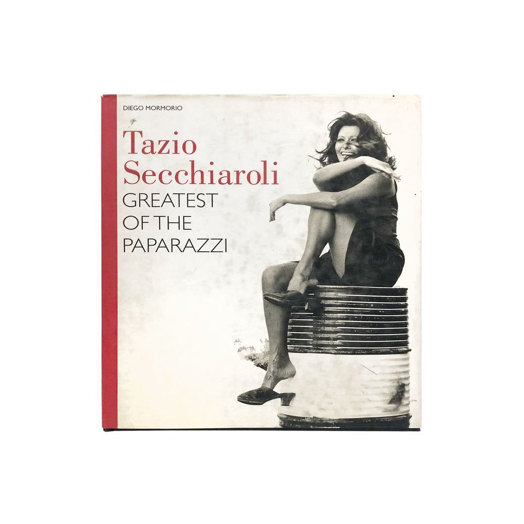 TAZIO SECCHIAROLI - GREATEST OF THE PAPARAZZI BY DIEGO MORMORIO - Flair Home Collection