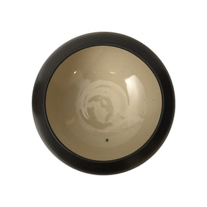 LARGE HIGH CONTRAST CERAMIC BOWL