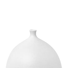 Load image into Gallery viewer, SHORT NECK CERAMIC BOTTLE VASE WITH ALABASTER GLAZE - Flair Home Collection
