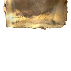 ABSTRACT MIXED METAL WALL SCULPTURE - Flair Home Collection