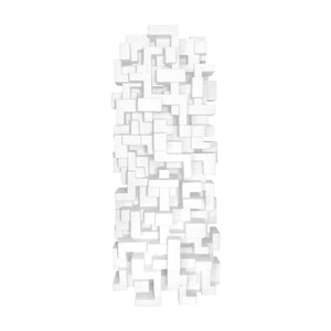 """COMPOSITION 8.2"" WALL SCULPTURE - Flair Home Collection"