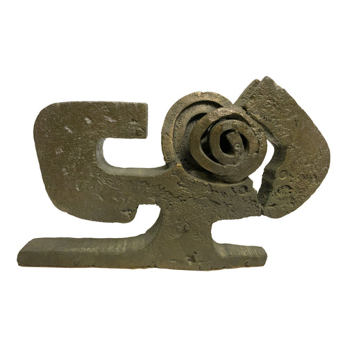 LIMITED EDITION BRONZE ABSTRACT SCULPTURE BY PAOLO SOLERI - Flair Home Collection