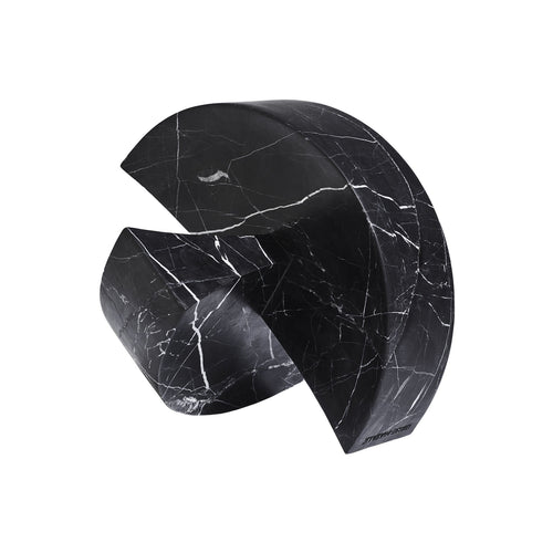 ARCO SCULPTURE IN NERO MARBLE - Flair Home Collection