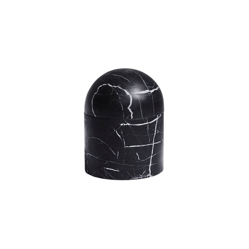 LARGE BEEHIVE BOX IN NERO MARBLE - Flair Home Collection