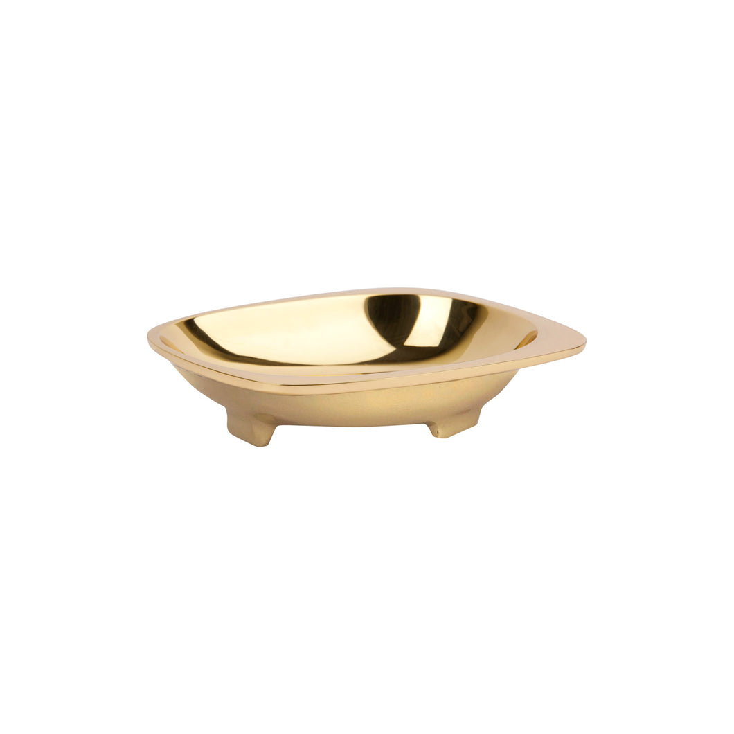 BELLA CATCHALL IN BRASS - Flair Home Collection