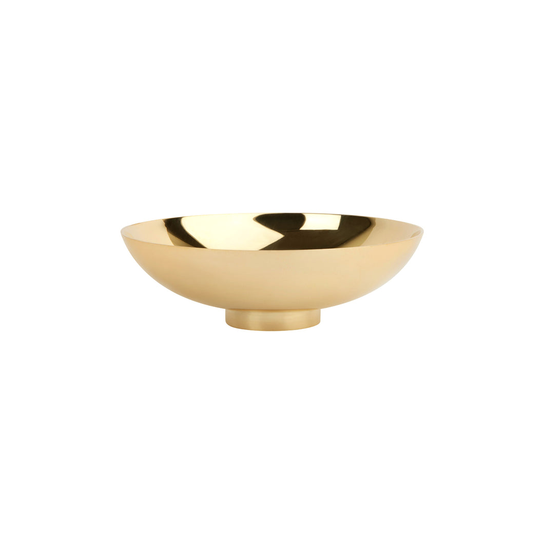 CARA CATCHALL IN BRASS - Flair Home Collection