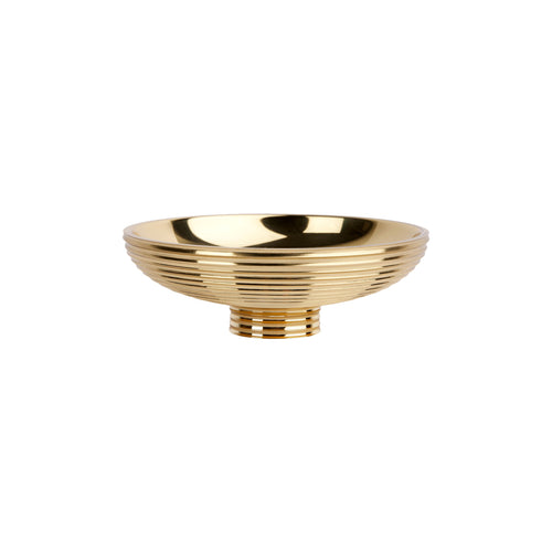 GABRIELLA CATCHALL IN BRASS - Flair Home Collection