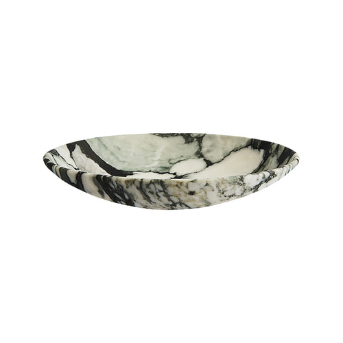 MEDIUM NIEMEYER BOWL IN FIORE MARBLE - Flair Home Collection