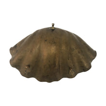 Load image into Gallery viewer, LARGE ITALIAN BRASS CLAM SHELL BOWL - Flair Home Collection