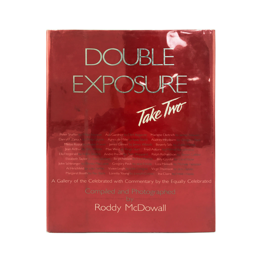 DOUBLE EXPOSURE TAKE 2 BY RODDY MCDOWALL- SIGNED COPY - Flair Home Collection
