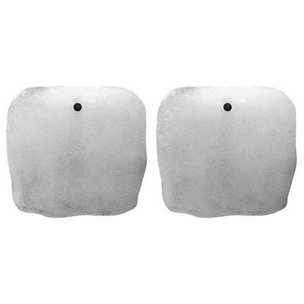 PAIR OF ICE GLASS SINGLE PLAQUE SCONCES - Flair Home Collection