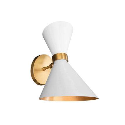 PEGGY WALL SCONCE IN WHITE - Flair Home Collection